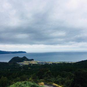 恐竜博物館へ向かう地中のSAで敦賀湾が一望できました!!内陸部なので海を見るとテンションが上がります🎈