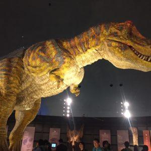 恐竜博物館のシンボル◎迫力があります!動きます!