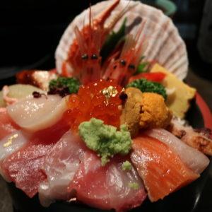 海鮮丼😊✨