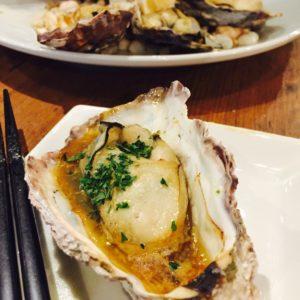 焼き牡蠣です🍷✨