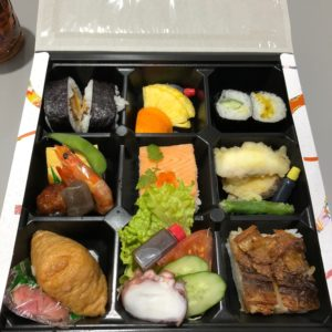 ✿淡路の会場で食べた寿司弁当です✿