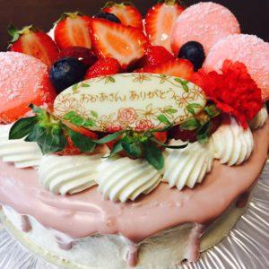 とってもかわいい母の日のケーキを見つけました♡