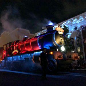 ユニバのナイトパレード★個人的にハリポタが素敵でした♡